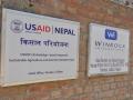 Signs in Kathmandu